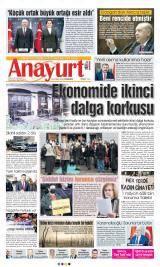 Anayurt Gazete Manşeti