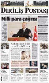Diriliş Postası Gazete Manşeti