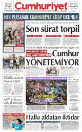 Cumhuriyet Gazete Manşeti