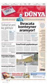 Dünya Gazete Manşeti
