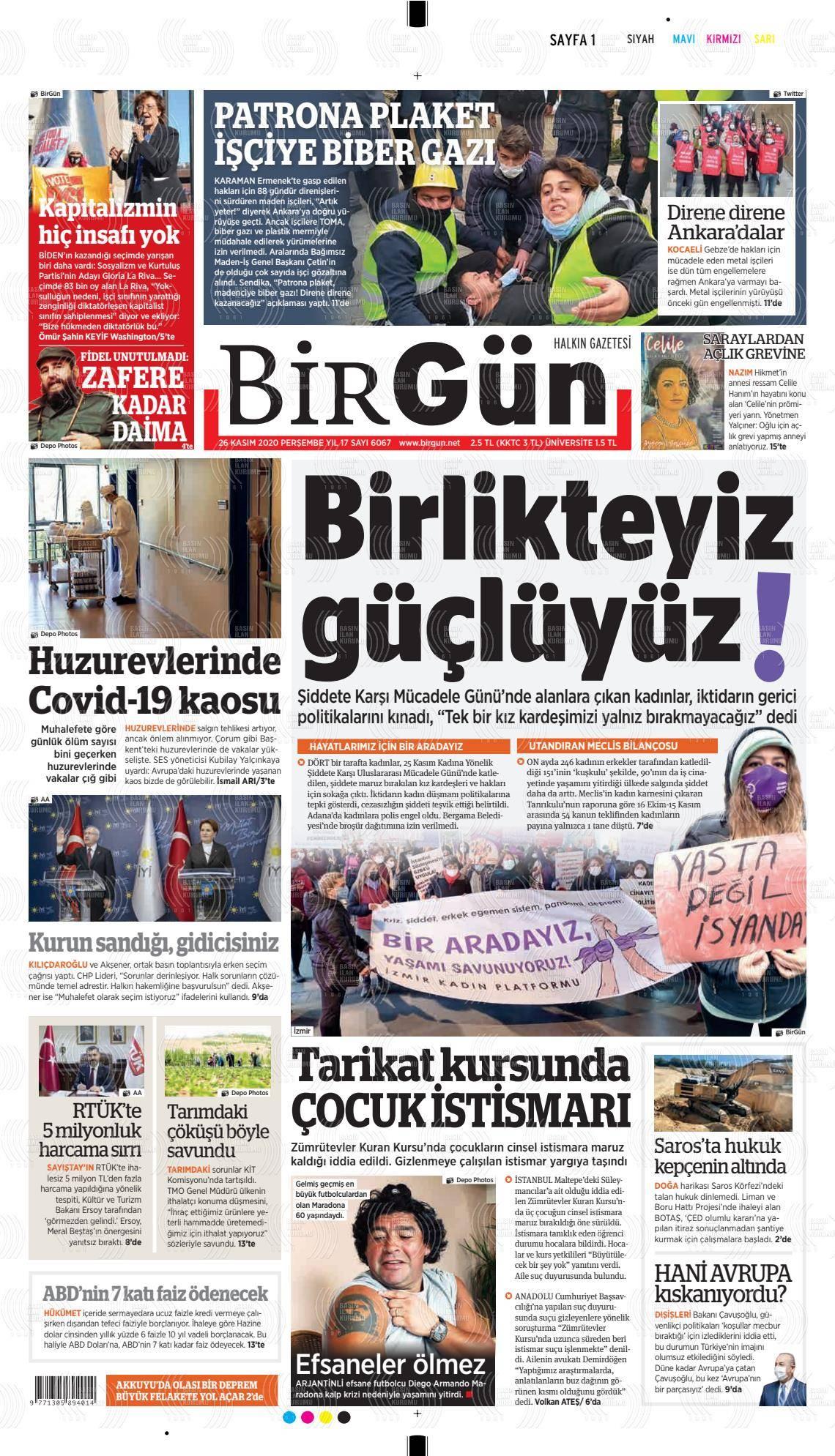 Halkın Gazetesi Birgün