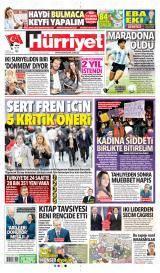 Hürriyet Gazete Manşeti