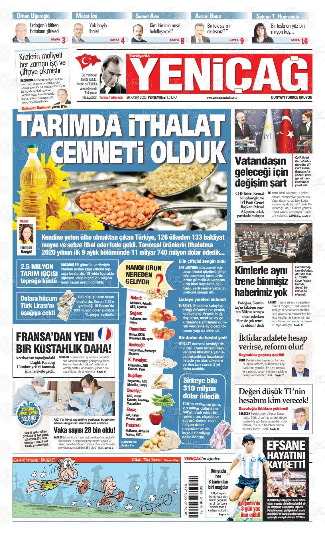 Türkiye'de Yeniçağ