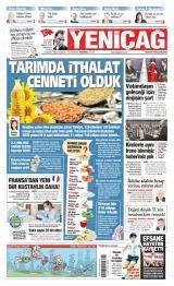 Türkiye'de Yeniçağ Gazete Manşeti