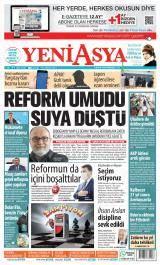 Yeni Asya Gazete Manşeti