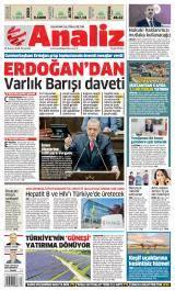 Analiz Gazete Manşeti