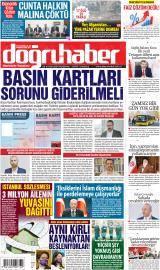 Doğruhaber Gazete Manşeti
