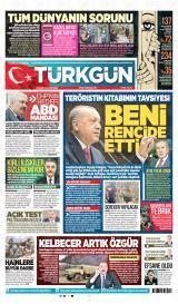 Türkgün Gazete Manşeti